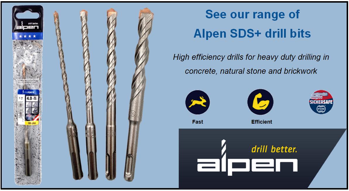 Alpen SDS drills