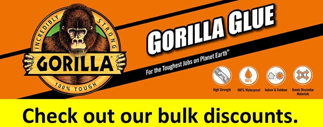 Gorilla Glue bulk discounts